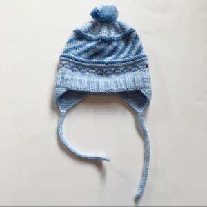 Other - Vintage knit baby boy hat💙